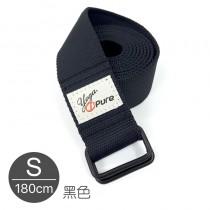 熱身瑜珈伸展帶-黑色S
