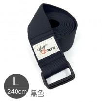 熱身瑜珈伸展帶-黑色L