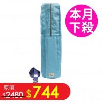 瑜珈背包-水藍色 可拆式肩帶